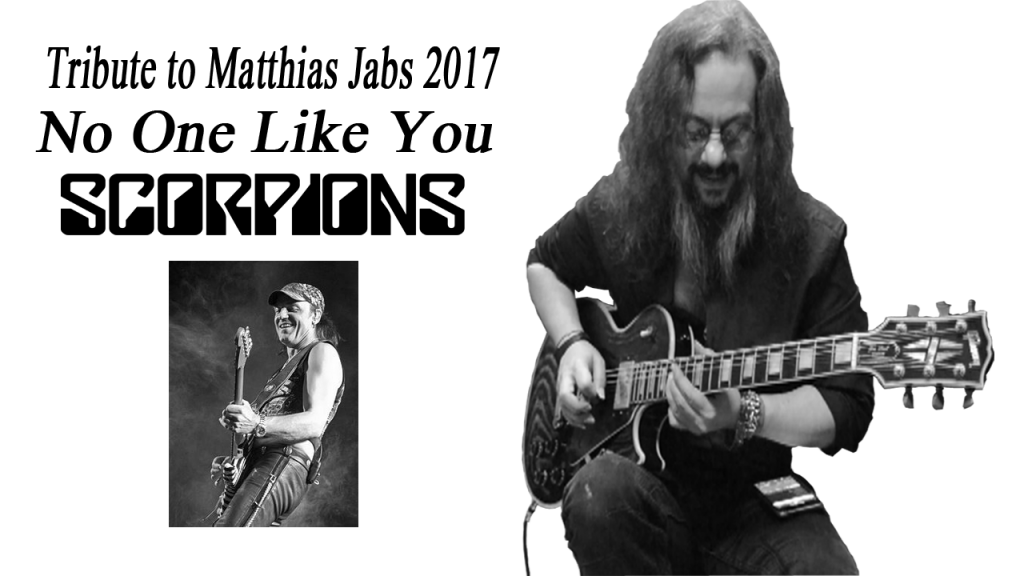 Scorpions. No One Like You. Metal Guitar Cover. Matthias Jabs.