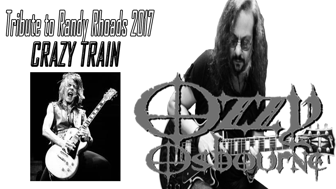 Ozzy Osbourne Randy Rhoads Crazy Train Guitar Solo Cover