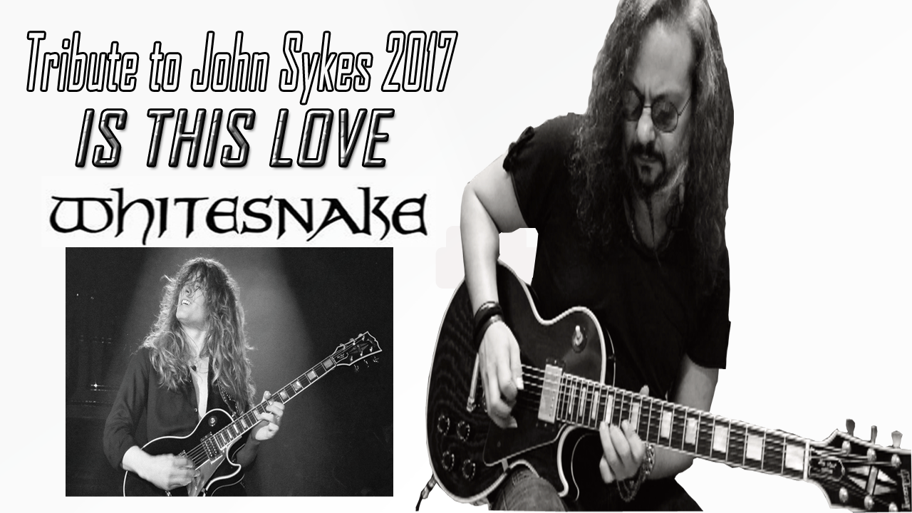 "John Sykes Is This Love Whitesnake 1987. Mr. John Sykes composed for Whitesnake the song ""Is This Love"" that was released on his album titled 1987."