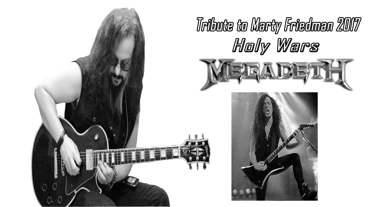 Holy Wars | Megadeth | Marty FRIEDMAN | Guitar Solo Cover
