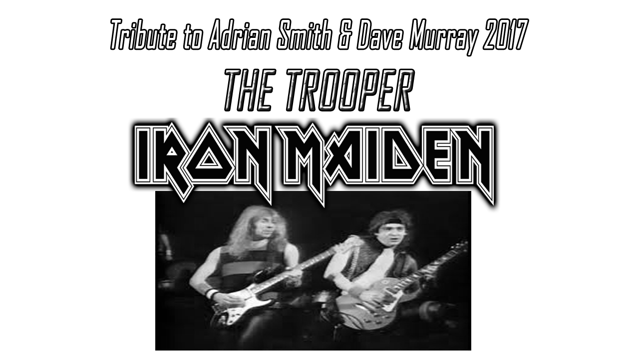 "Iron Maiden The Trooper Guitar Solo Cover. ""The Trooper"" is a song by Iron Maiden, British band of Heavy Metal. This song was sent in 1983 in the titled album ""Piece Of Mind""."