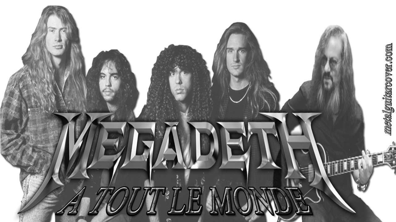"The Guitar Solo in ""Tout Le Monde"" by Marty Friedman of Megadeth, is one of the best guitar solos in the history of rock ... Metal Guitar Cover tribute to Megadeth with the song ""A Tout Le Monde"" published on his album of the year 1994 entitled ""Youthanasia""."