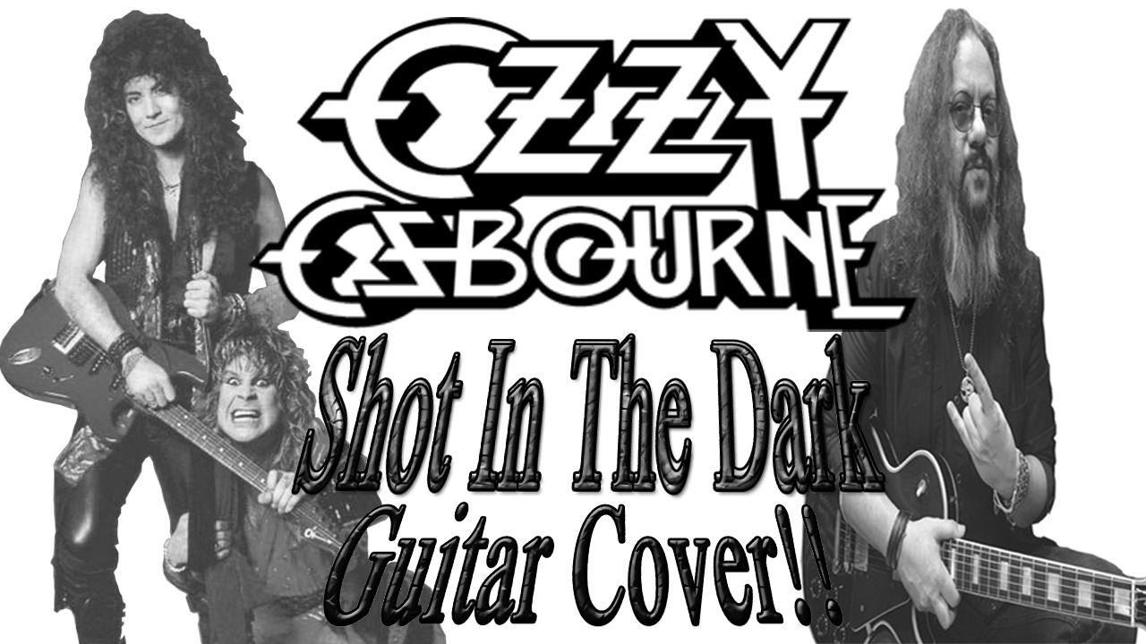 Ozzy Osbourne Jake E. Lee Shot In The Dark Guitar Cover
