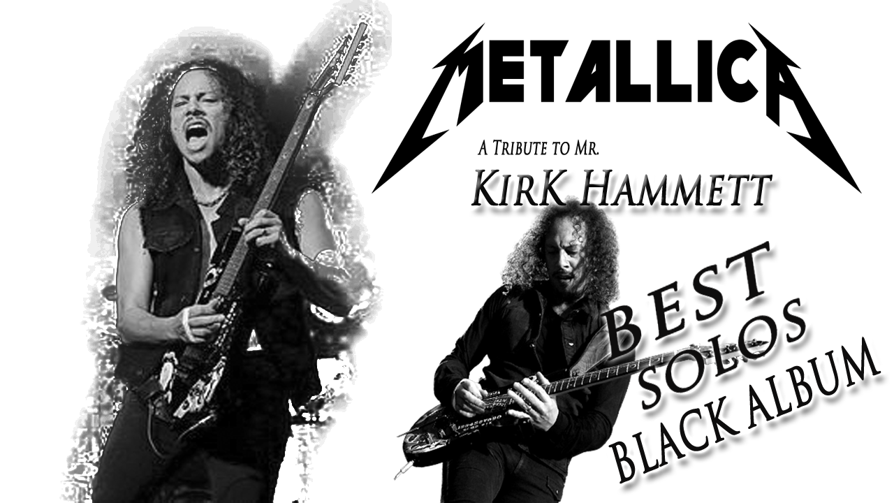 Kirk Hammett | MeTaLLICa | Best Solos | Black Album | Guitar Cover