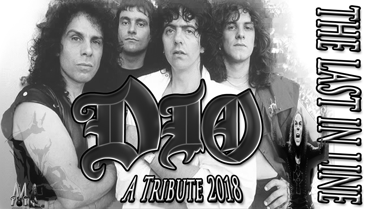 Ronnie James DIO   The Last In Line   Drums Bass and Guitar Cover