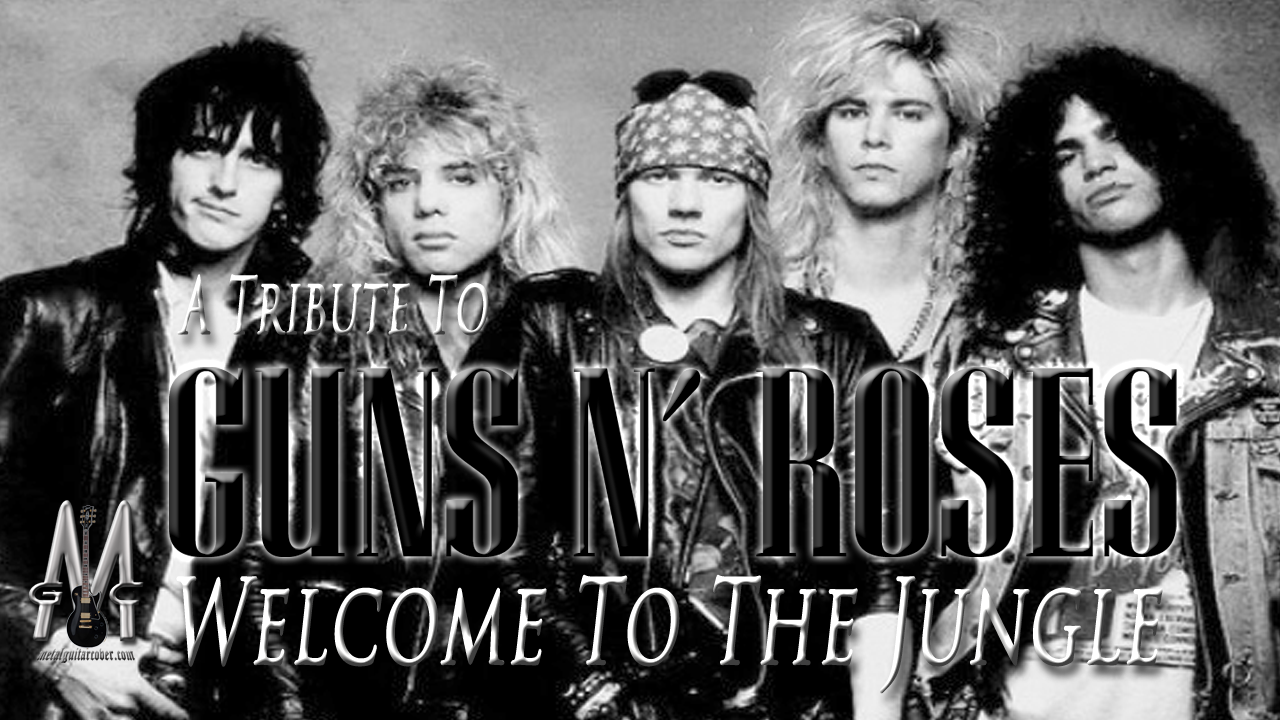 Slash | Guns And Roses | Welcome To The Jungle | Full Guitar Cover