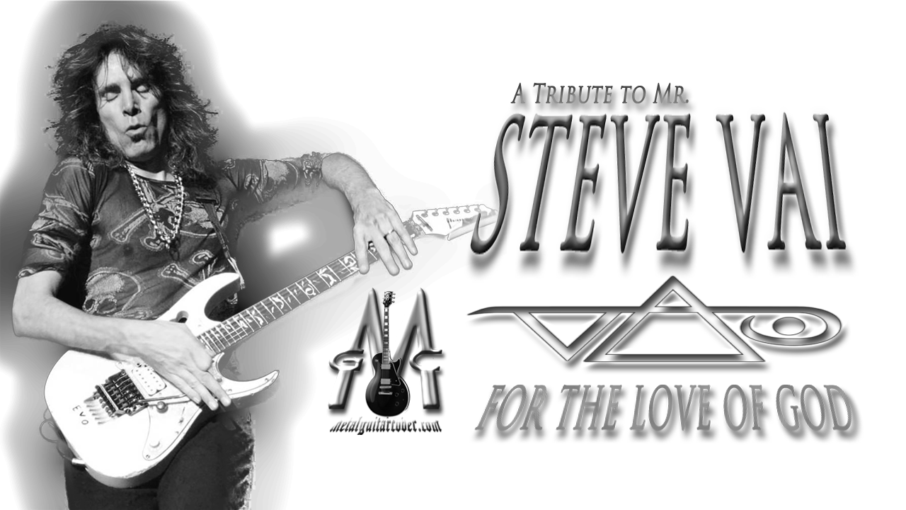 """Metal Guitar Cover from For the Love Of God by Steve Vai. A tribute to the great guitarist Mr. Steve Vai. In """"For The Love Of God, he plays one of his best guitar solos, the Guitar Cover I played without """"Floyd Rose"""""""